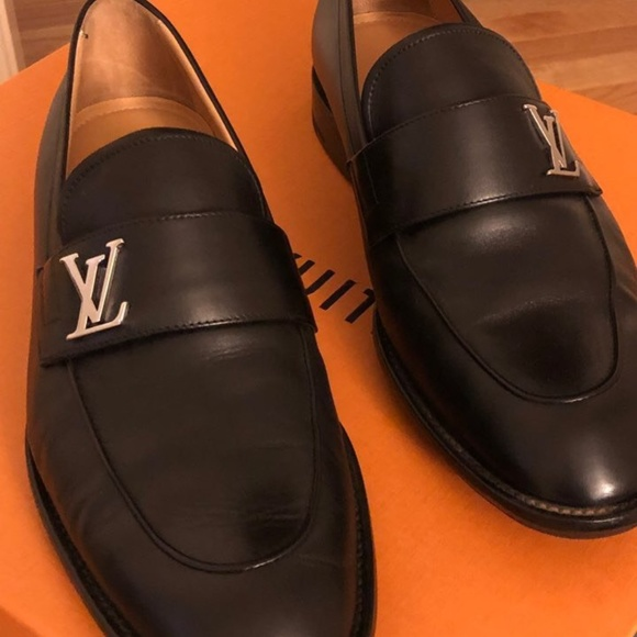 7b7c2abcfe3 Louis Vuitton Men's Shoes (Black)